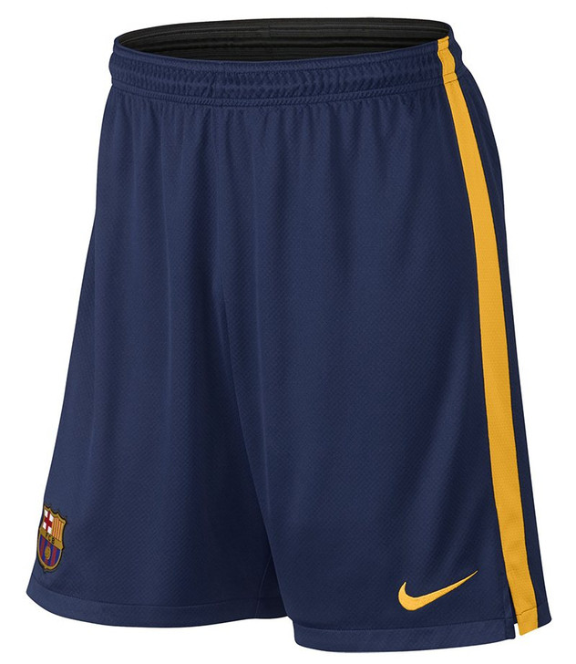 Nike Barcelona Strike LGR Knit Shorts - Loyal Blue/Gold SD (121120)