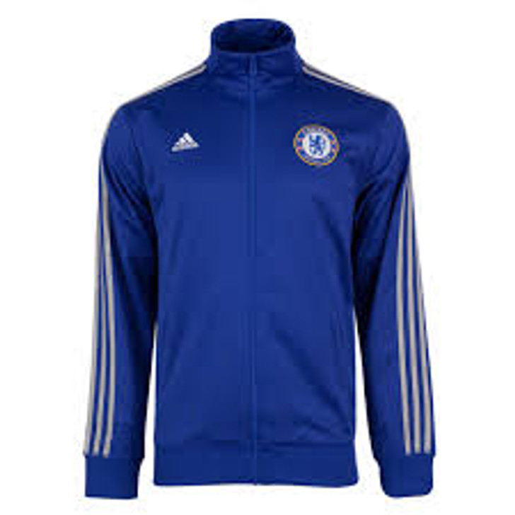 adidas Mens Chelsea 3-Stripes Track Jacket - Chelsea Blue/White SD (090120)