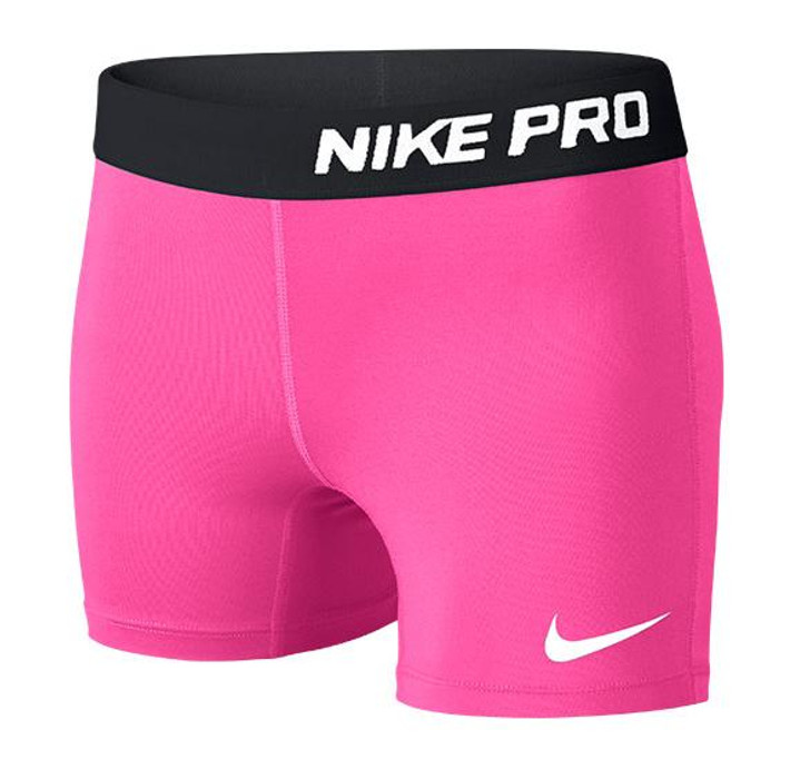 Nike Youth Pro Compression Shorts - Pink/Black (042319)