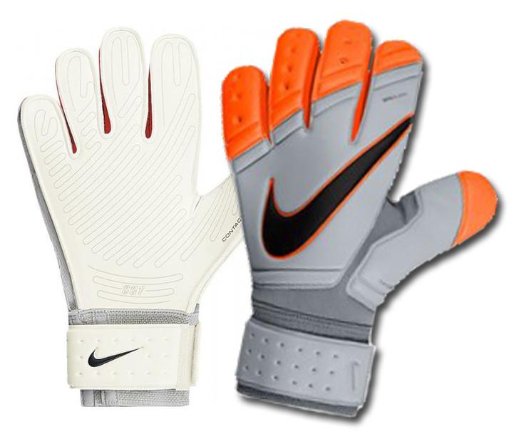 Nike GK Premier SGT - Grey/Orange SD (012320)