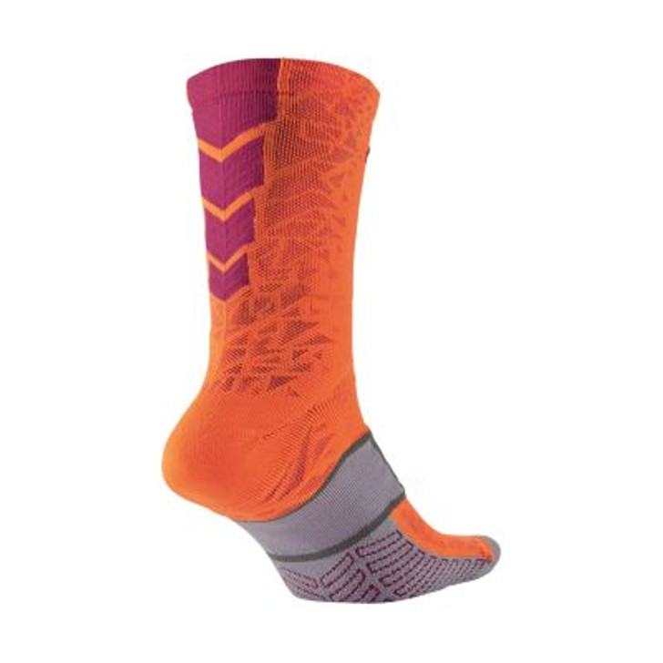 Nike Elite Match Fit Cushioned Sock - Orange/Pink