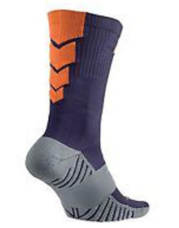 Nike Performance Cushioned Sock - Ink/Wolf Grey/Total Orange (121319)