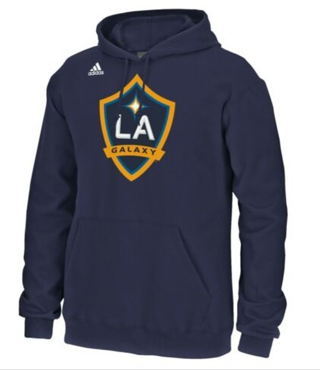 adidas LA Galaxy Fleece Hood - Navy/Gold Shield SD (123119)