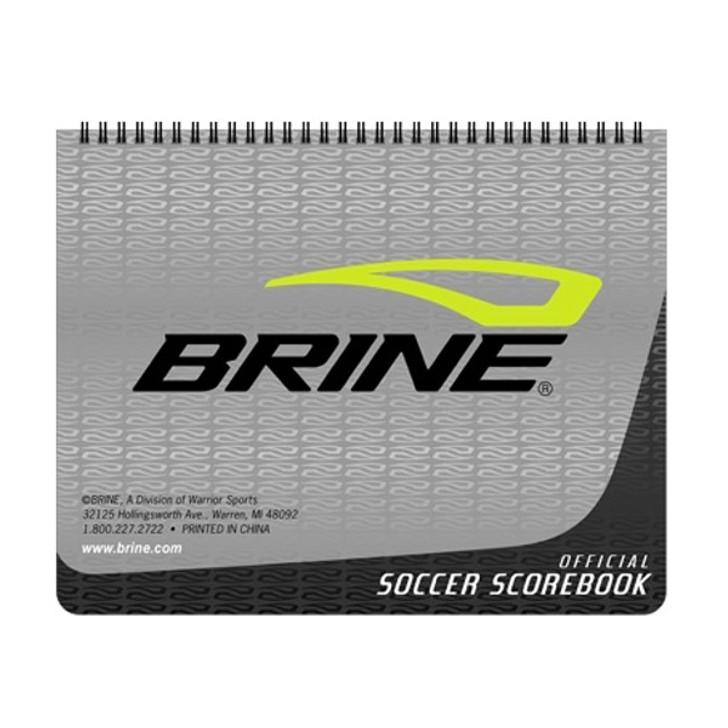 Brine Soccer Scorebook - Gray/Black (111017)