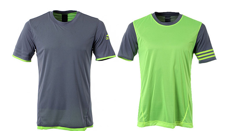 adidas UFB Reversible Soccer Jersey Grey/Lime SD (030520)
