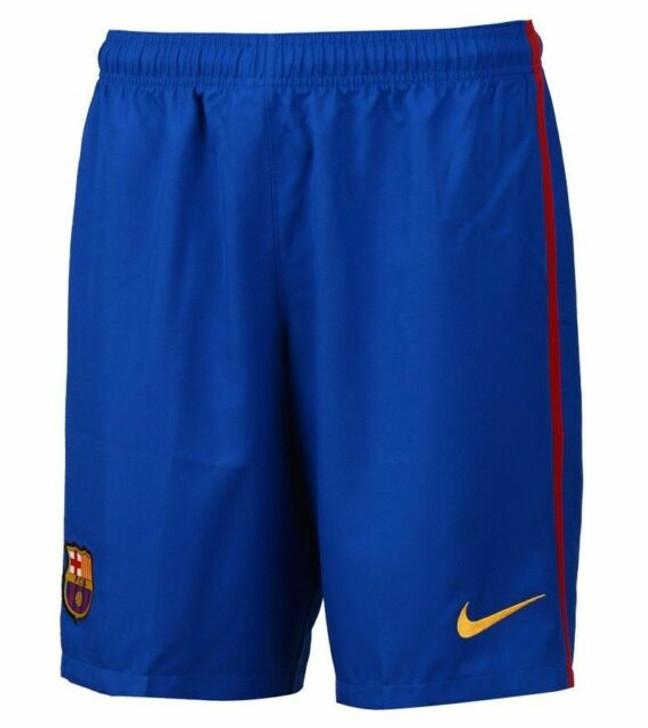 Nike Barcelona 16/17 Home Short - Sport Royal/University Gold SD (123119)