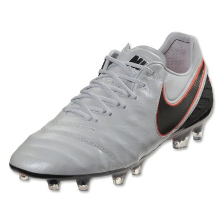 edff547063d1 Nike Tiempo Legend VI FG - Pure Platinum Black Metallic Silver Hyper Orange  RC (42317)