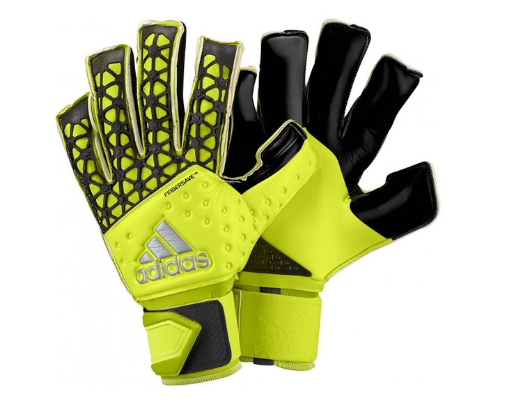 Adidas Ace Zones Allround Fingersave Gloves - Solar Yellow/Black- SD (012320)