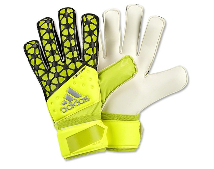 adidas Ace Fingersave Replique Gloves - Solar Yellow/Black