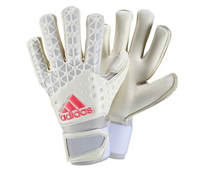 adidas Ace Pro Classic Gloves - White/Solid Grey