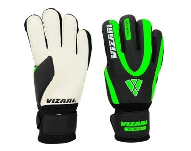 Vizari Pro Keeper F.P. Gloves - Black/Neon Green