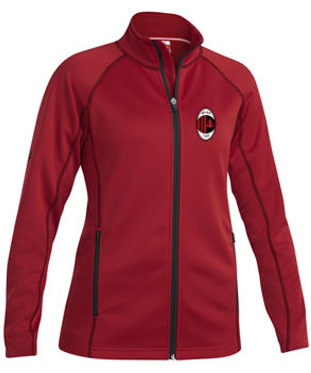 Milan SC Academy Women Warm Up Jacket - Xara Sevilla - Red/Black