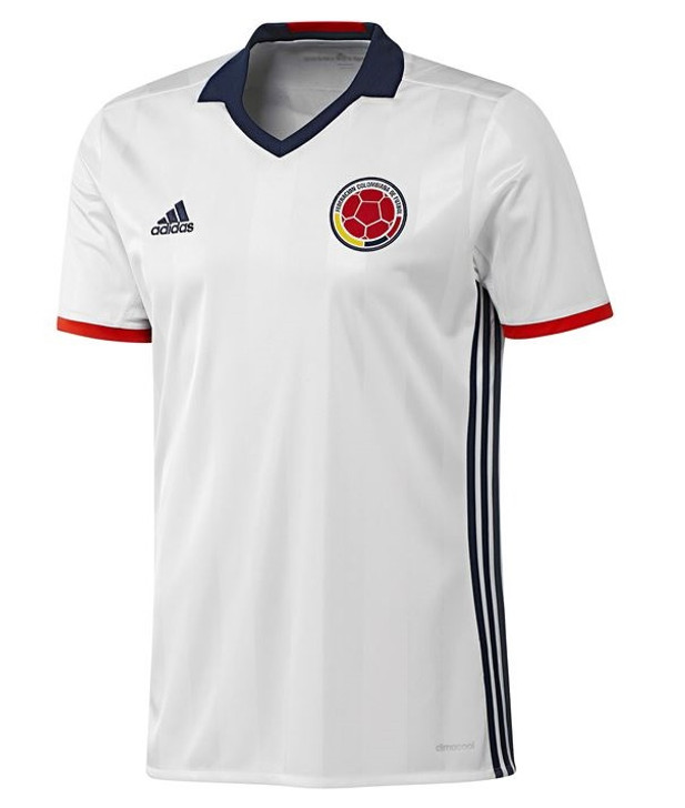 Adidas Mens Colombia Home Jersey - White/Navy/Red RC (061019)