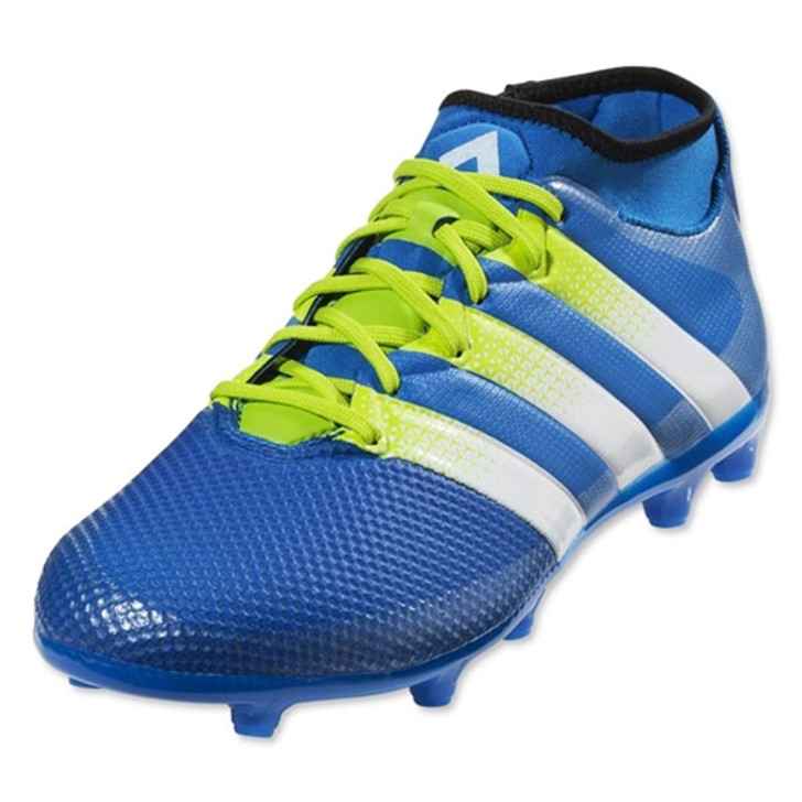 Adidas Ace 16.3 Primemesh FG/AG - Shock Blue/Semi Solar Slime/True White SD (11219)