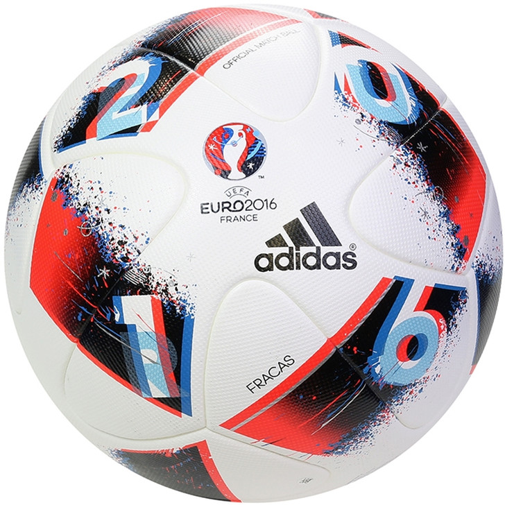 Adidas UEFA EURO 2016™ Official Match Ball - White/Pool/Dark Indigo (121919)
