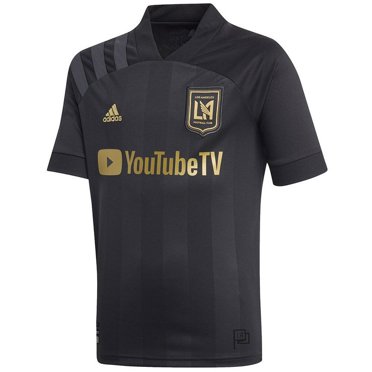 Adidas Youth LAFC Home 2020 Jersey- EH6532