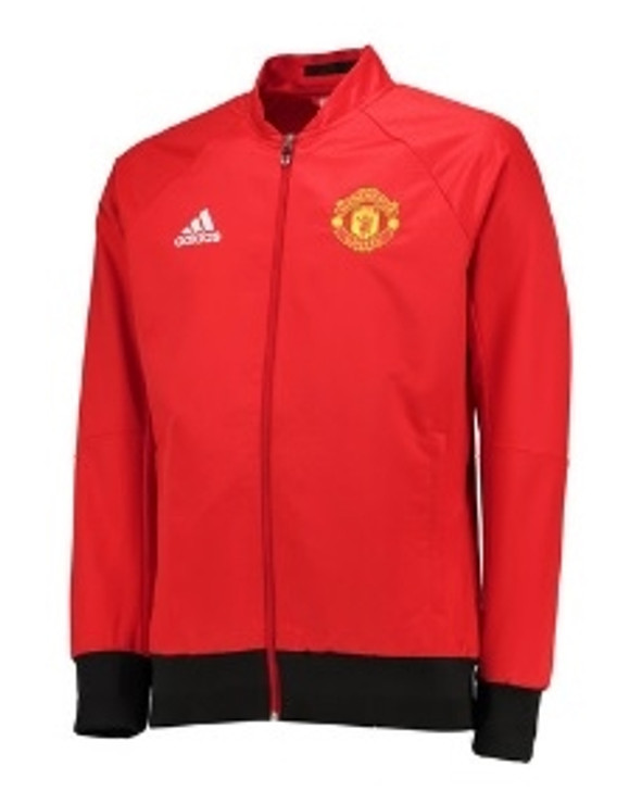 adidas Manchester United Anthem Jacket - Red/Yellow SD (123119)
