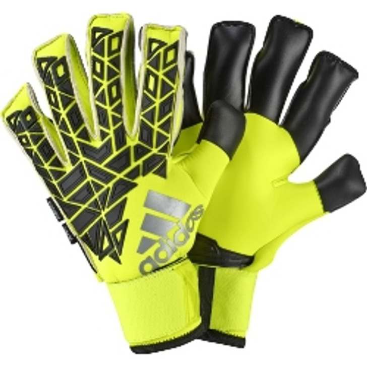 adidas Ace Trans Fingersave Pro Keeper Glove - Black/Solar Yellow- SD (012320)