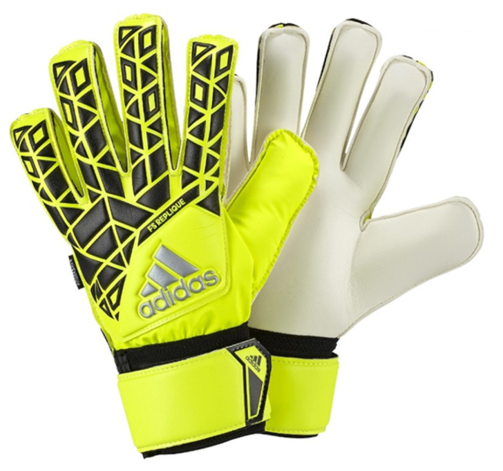Adidas Ace Fingersave Replique GK Gloves - Yellow/Black- SD (012220)