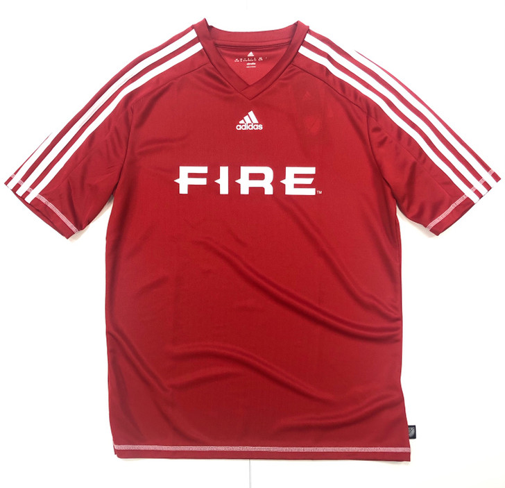 adidas Chicago Fire Rec Jersey - Red/White- SD (012920)