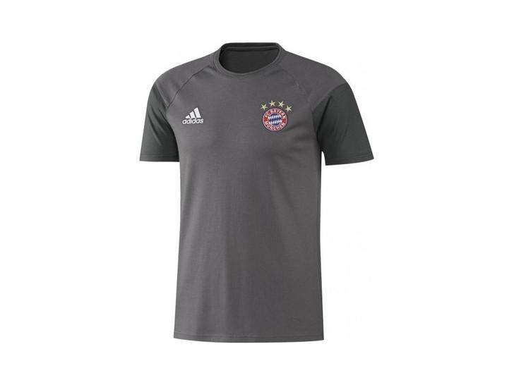 adidas FC Bayern Youth Tee - Granite/White SD (123119)