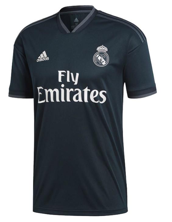 Adidas Youth Real Madrid Away Jersey 18/19- CG0570
