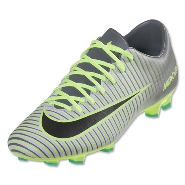 149850118 Nike Mercurial Victory VI FG - Pure Platinum Black Ghost Green RC (043019)  - ohp soccer