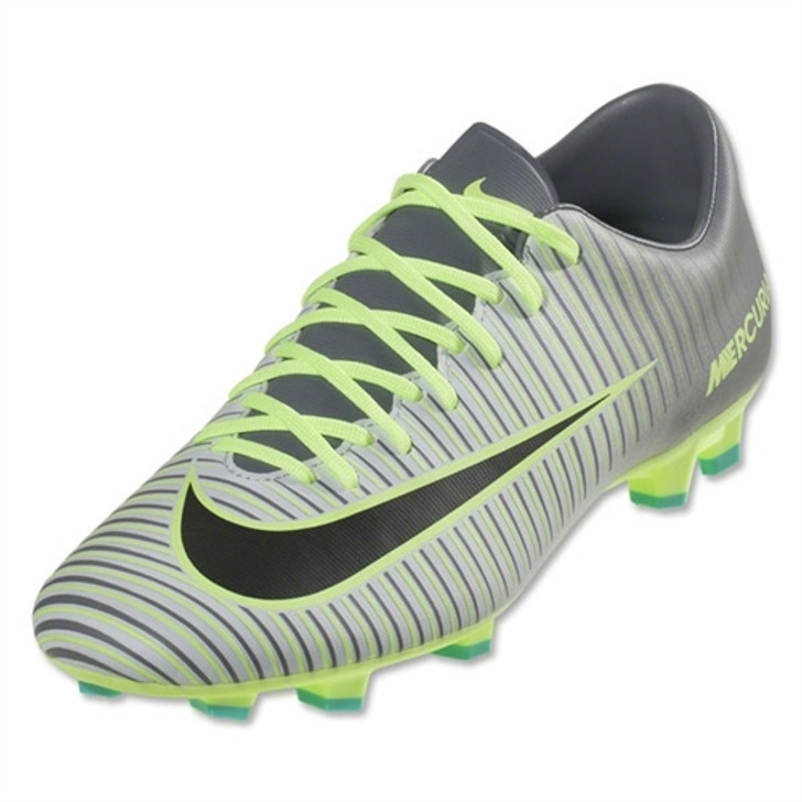 hot sale online f170d 7f026 Nike Mercurial Victory VI FG - Pure Platinum Black Ghost Green RC (043019)