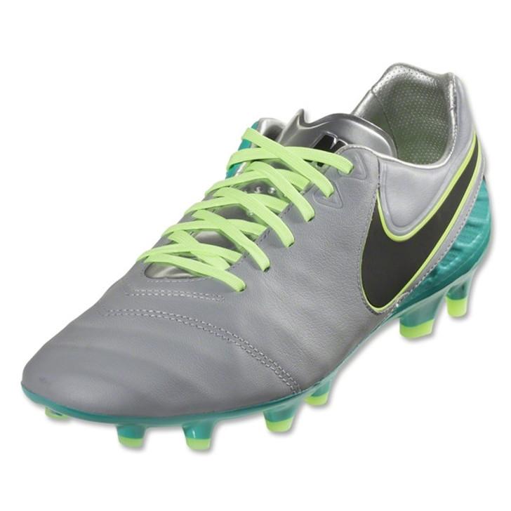 best service 6d0a4 4d187 Nike Tiempo Legacy II FG - Wolf Grey/Clear Jade/Black/Volt RC (06419)