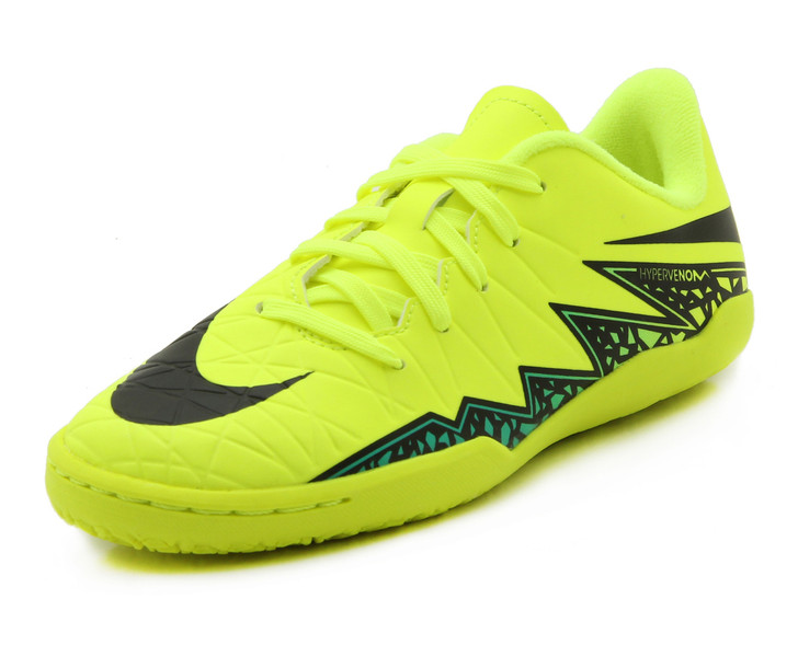 Nike Jr Hypervenom Phelon II IC - Volt/Black SD (010120)