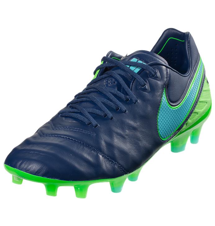 Nike Jr Tiempo Legend VI FG - Coastal Blue/Rage Green/Polarized Blue SD (123119)