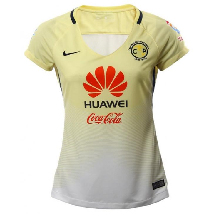 Nike Women's America Home Jersey - Yellow- SD (091620)