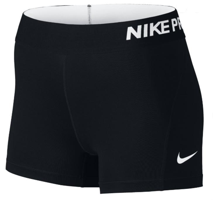 Nike Shorts Women's Pro - Black/White