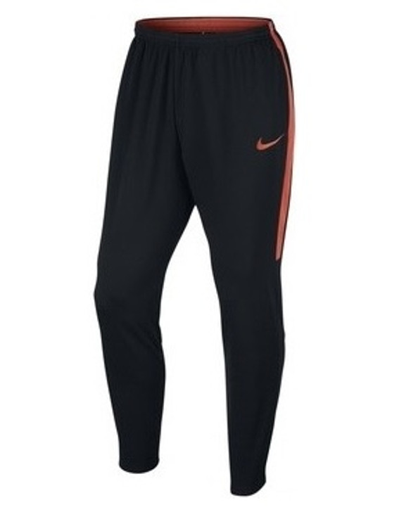 Nike Academy Knit Pants Men's - Black/Black/Turf Orange/Turf Orange