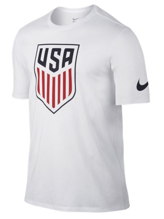 Nike USA Crest Tee Shirt - White (020720)
