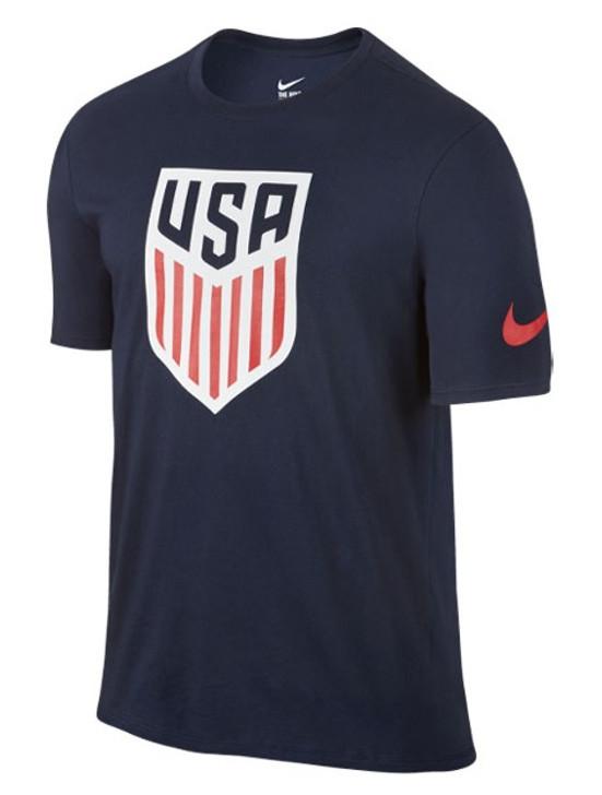 Nike USA Crest Tee Shirt - Obsidian- SD (020720)