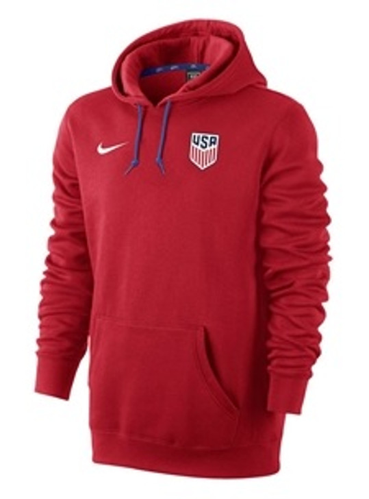 Nike U.S. Core Men's Hoodie - University Red/Game Royal/White SD (090120)