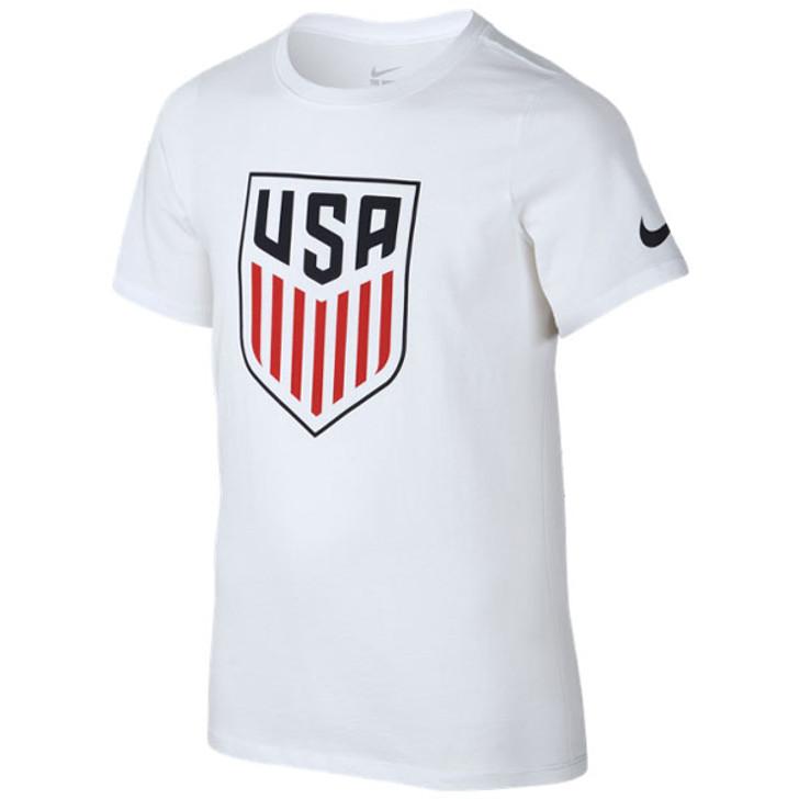 Nike Youth USA Crest T‑shirt  - White (020720)