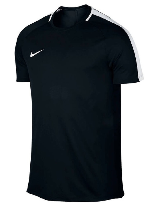 Nike Dry Acdmy Top SS - Black/White