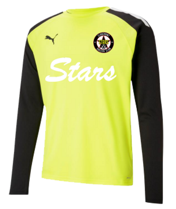Claremont Stars GK Jersey - Puma Pacer - Youth or Adult - Yellow or Blue