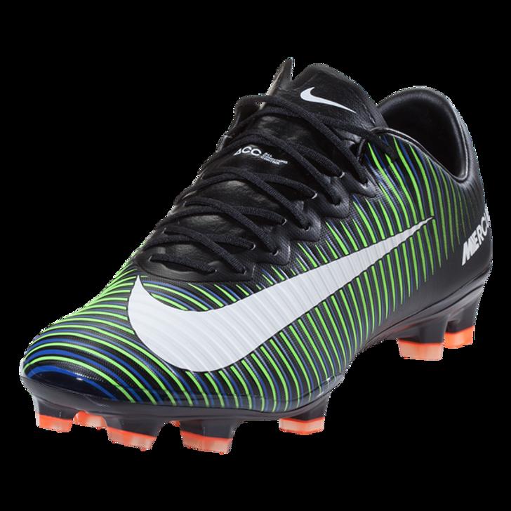 online retailer 2cd5d 72383 Nike Mercurial Vapor XI FG - Blk/Green/Blue RC (052319)