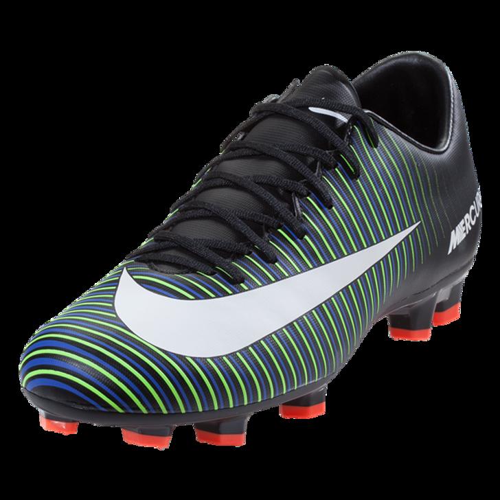 size 40 c52e0 545a4 Nike Mercurial Victory VI FG - Black/White/Electric Green (052419)
