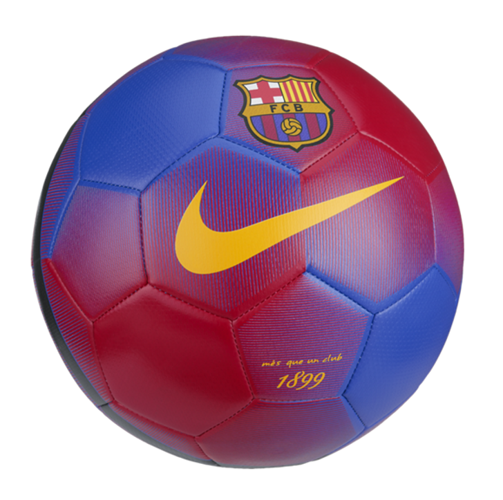 Nike Barcelona FC Prestige Ball - Navy/Red