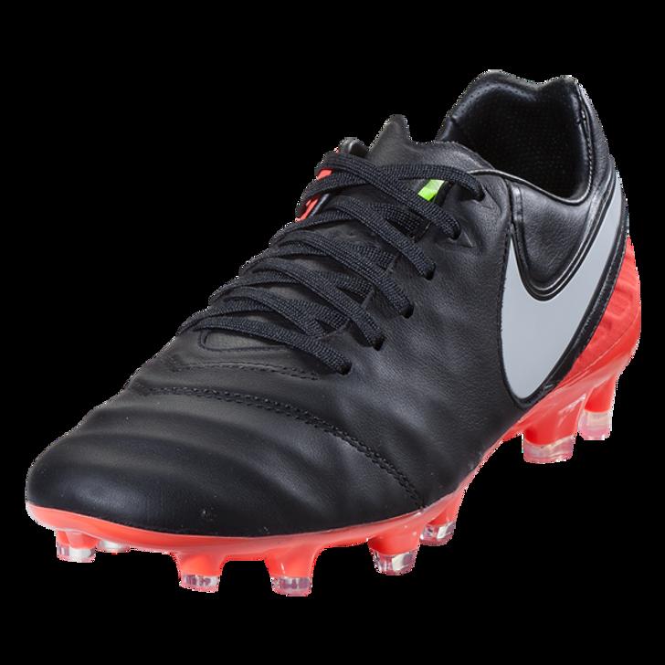 e7e2a6fa8da6 Nike Tiempo Legacy II FG - Black/White/Hyper Orange/Volt - ohp soccer