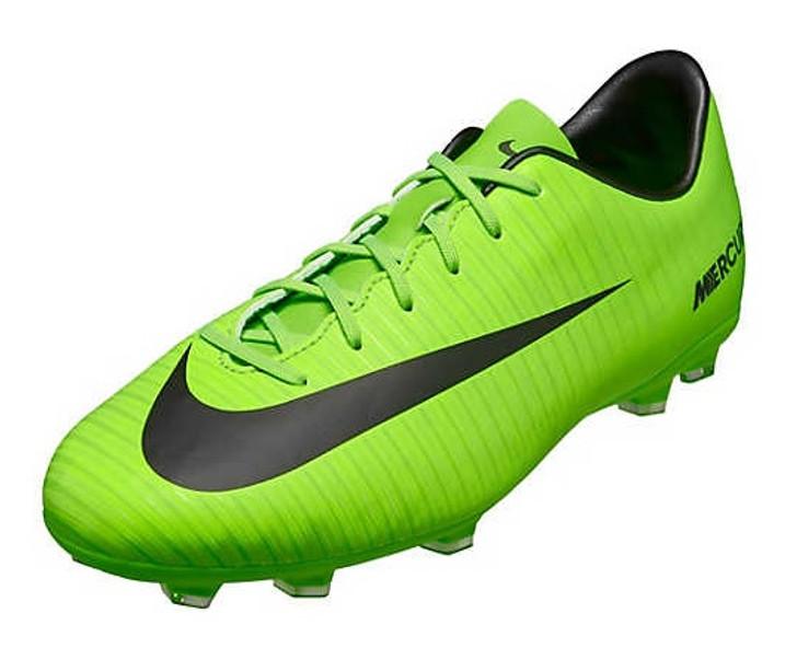 Nike Jr Mercurial Victory VI FG -  Electric Green/Flash Lime (012220)