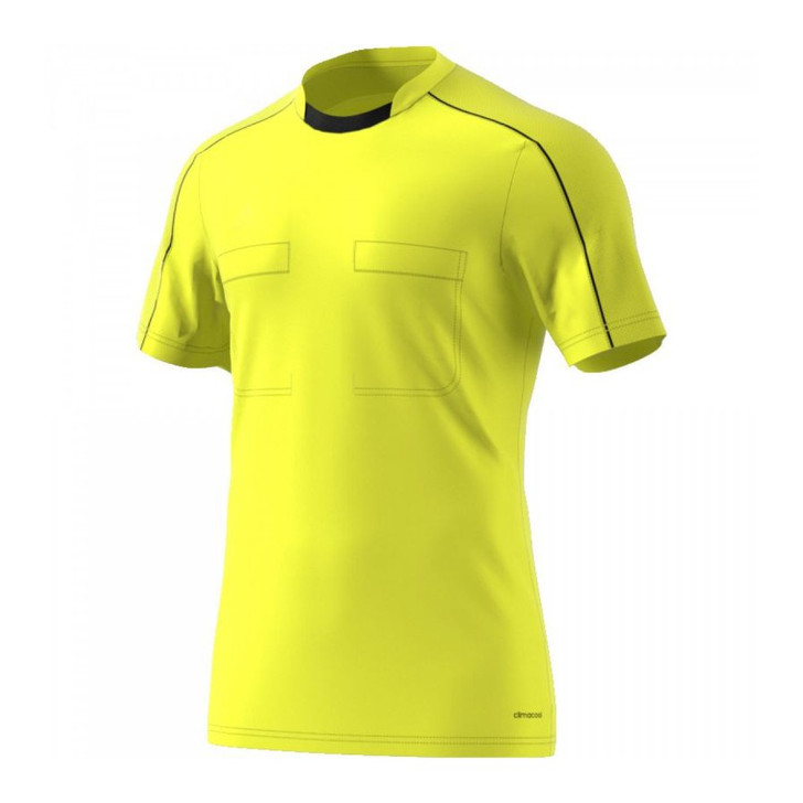 adidas Referee 16 Jersey - Yellow/Black (020820) - ohp soccer