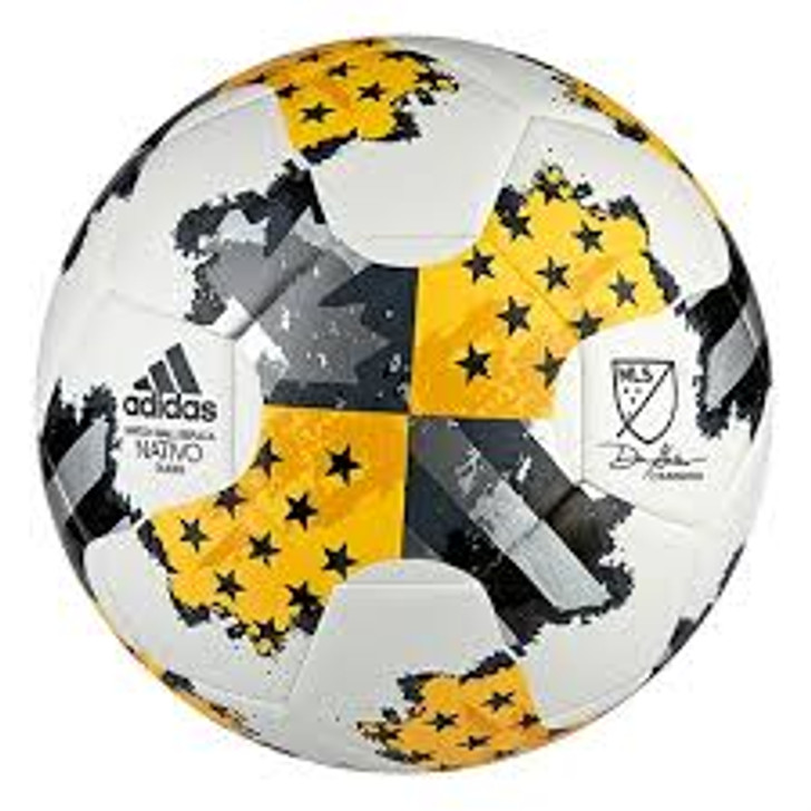 adidas 17MLS Glider Ball - White/Gold/Dark Onix SD (020420)
