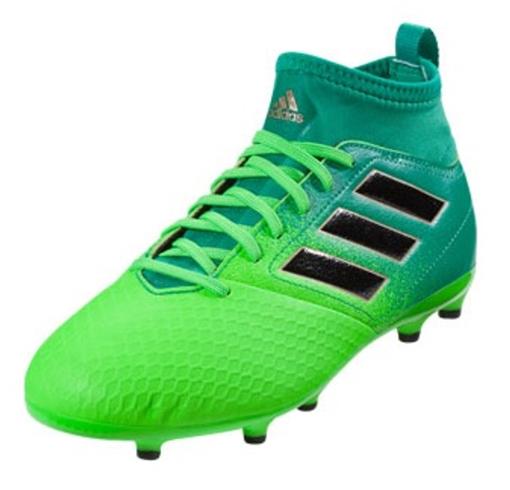 new concept 07d60 0cf7b adidas ACE 17.3 FG J - Solar Green/Core Black (11219) SD