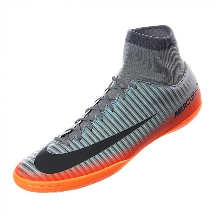 Nike MercurialX Victory VI CR7 DF IC - Cool Grey/Metallic Hematite