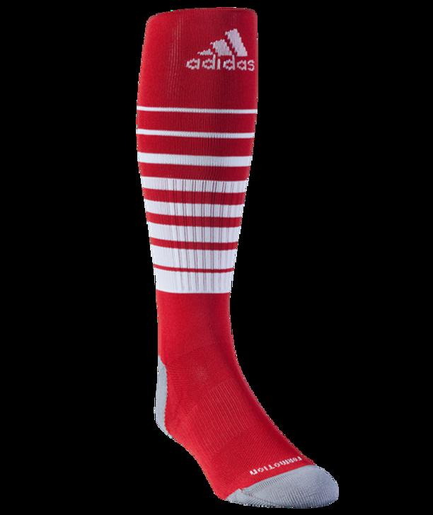 adidas Team Speed Sock - Red/White